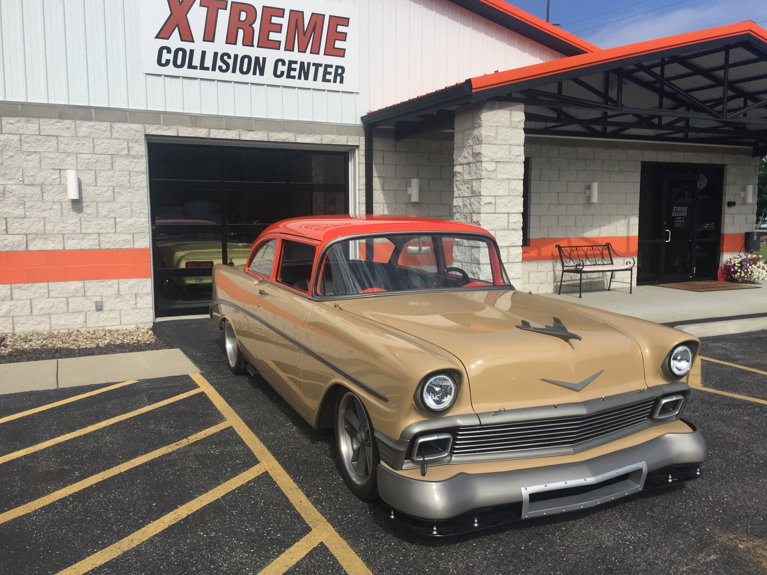 Pro touring 56 Chevy